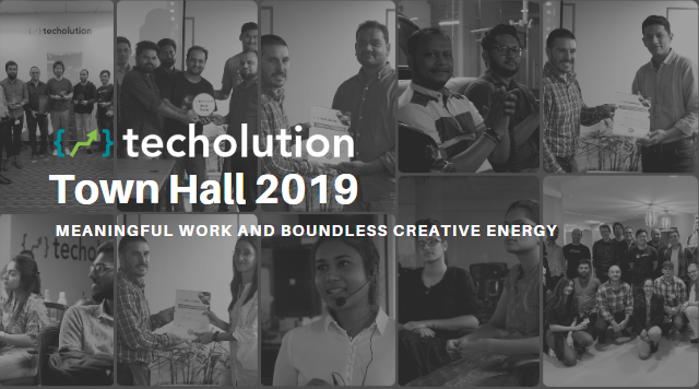 Techolution Town Hall 2019
